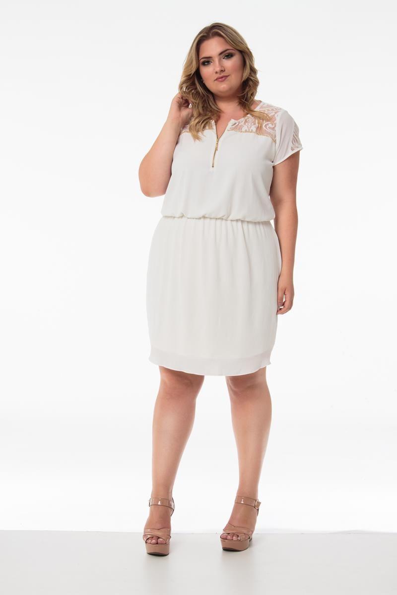 Vestido Plus Size Luana