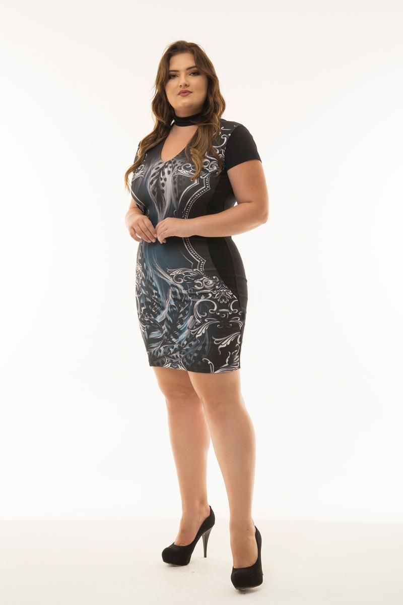 Vestido Plus Size May