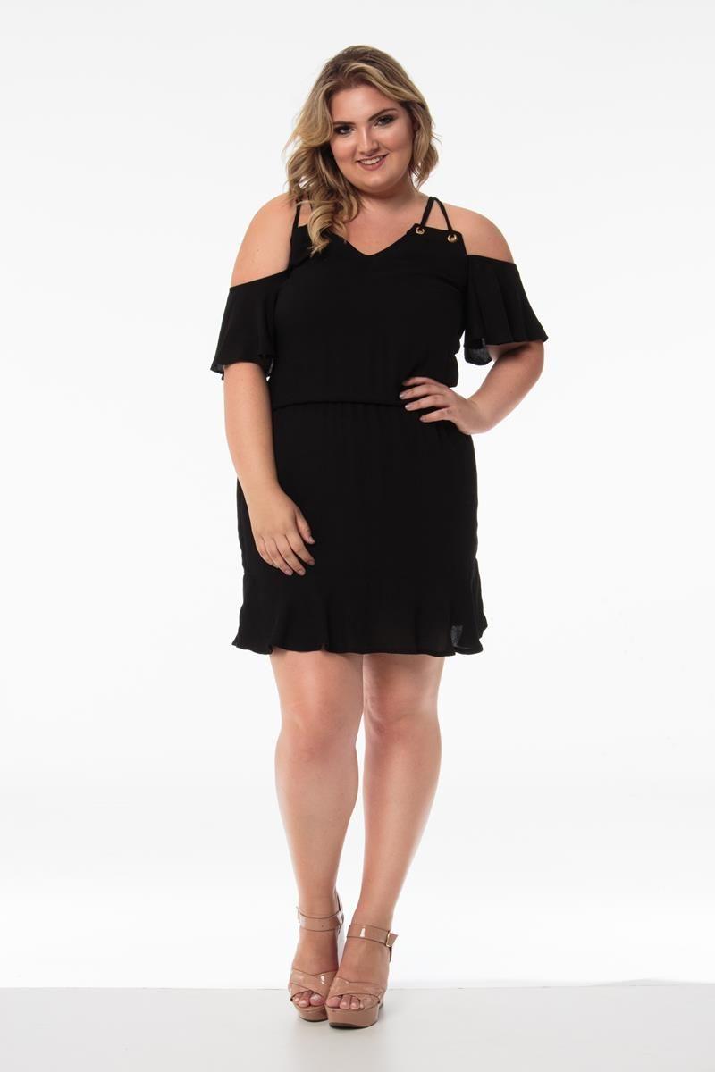 Vestido Plus Size Melissa