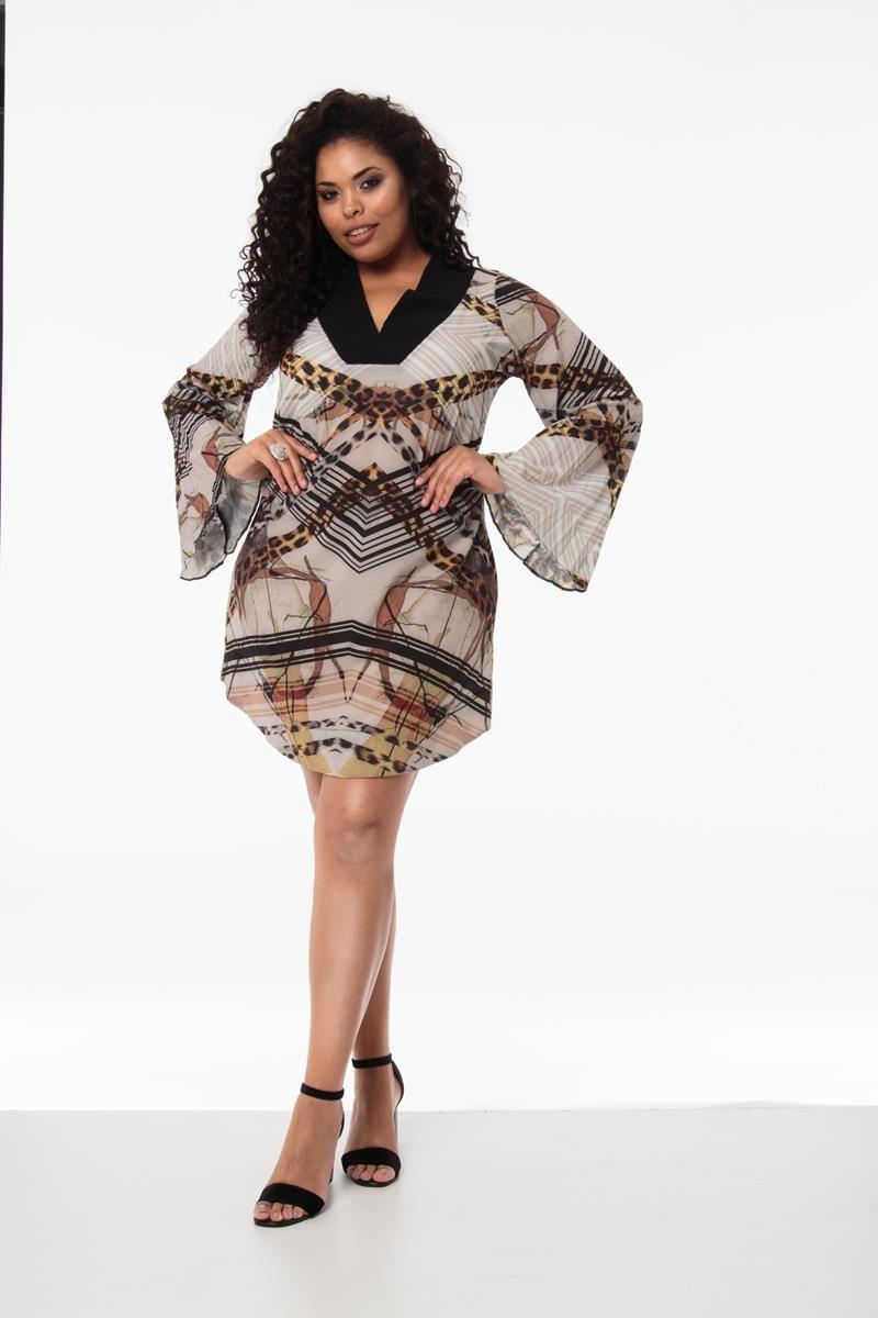 Vestido plus size Nubia