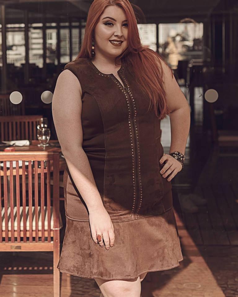 Vestido Plus Size Adele
