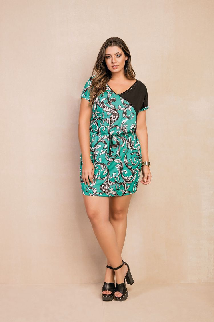 Vestido Plus Size Ana Luisa