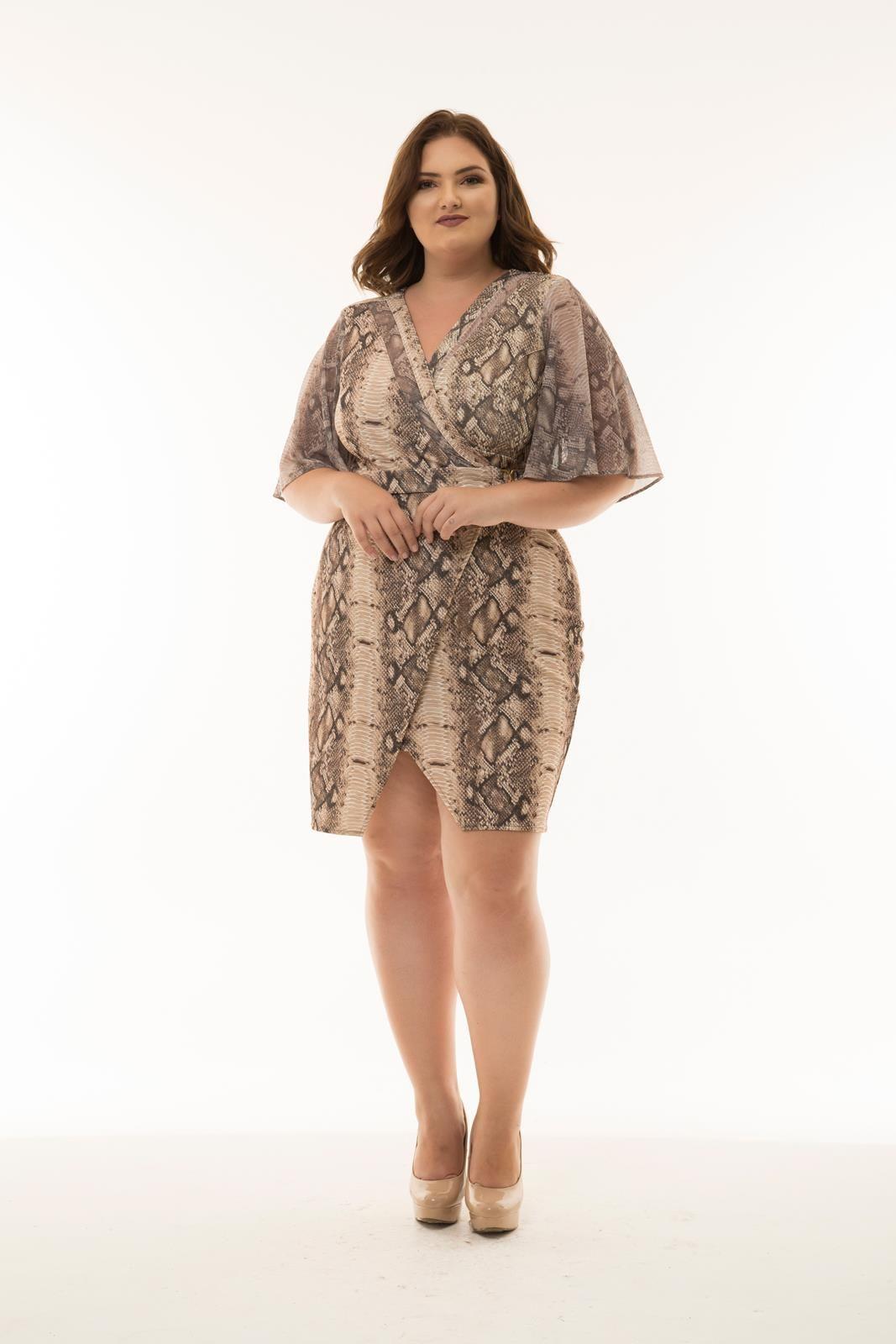 Vestido Plus Size Brenda