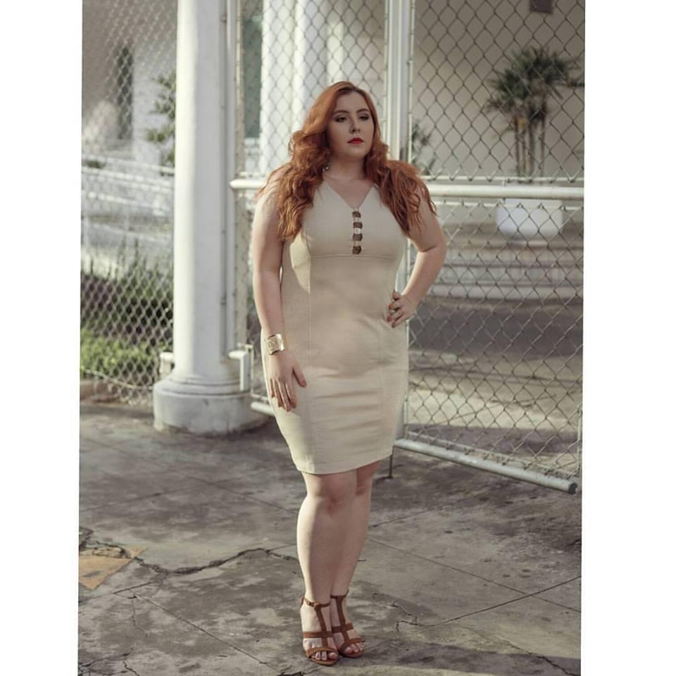 Vestido Plus Size Kim