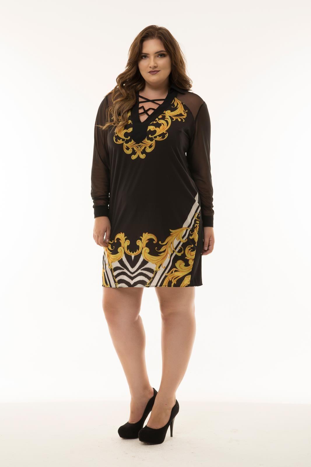 Vestido Plus Size Rosana