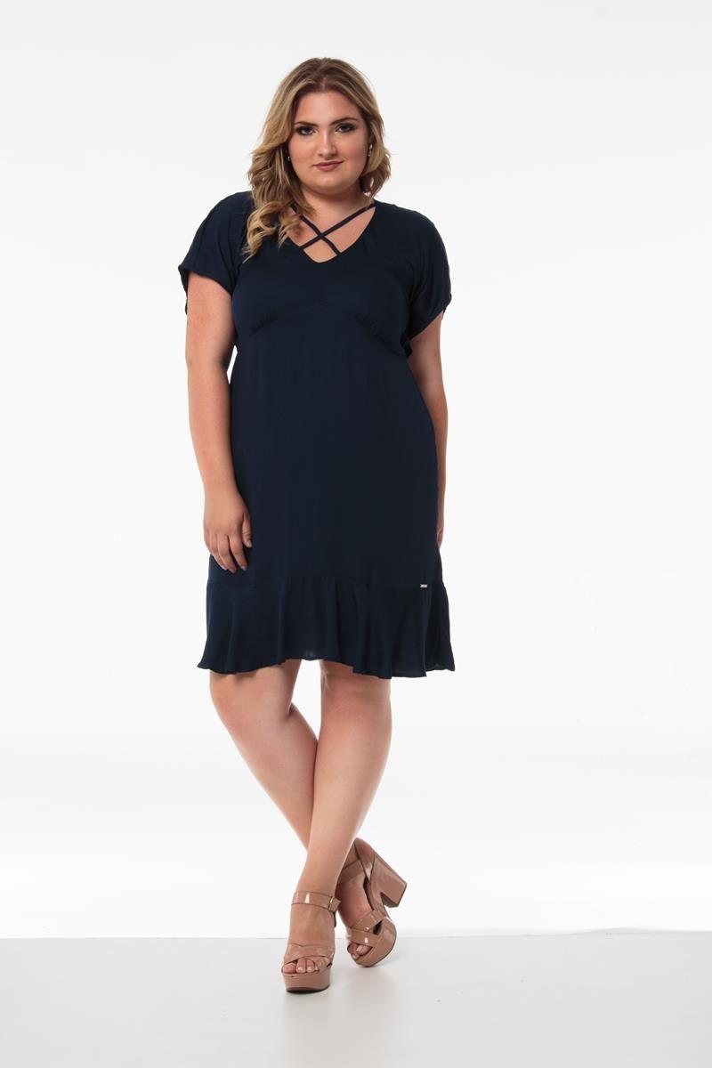 Vestido Plus Size Sabine