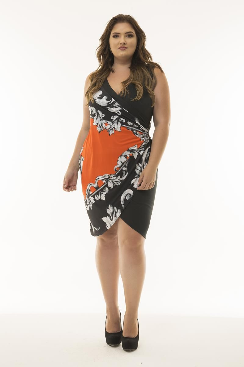 Vestido Plus Size Sabrina