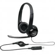 Headset Logitech H390 Usb Pto 981-000014