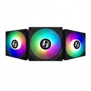 KIT FAN 120MM 3UND ST120 RGB ST120-3B LIAN LI