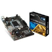Placa Mãe 1151 Intel MSI H110M PRO-VH PLUS DDR4