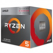 PROCESSADOR AM4 RYZEN 5 3400G 3.7@4.2GHZ 4MB 4/8 YD3400C5FHBOX AMD