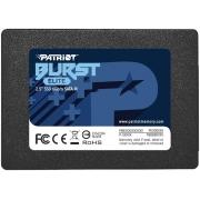 SSD 2.5 SATA3 120GB BURST ELITE PBE120GS25SSDR PATRIOT