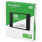 SSD WD Green 2.5'' 240GB SATA III WDS240G2G0A