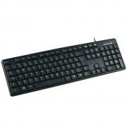 TECLADO USB KB-15BK C3TECH