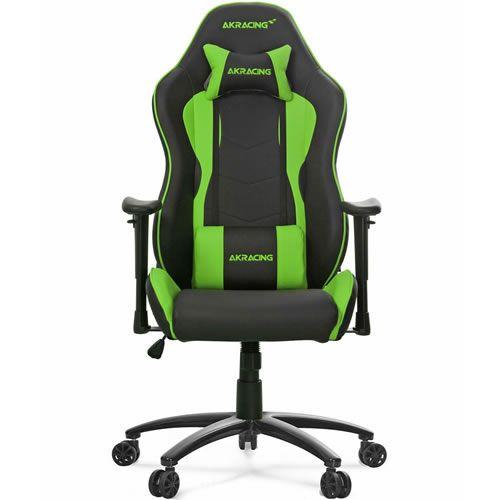 Cadeira Gamer AKRacing Nitro Green 10030-4
