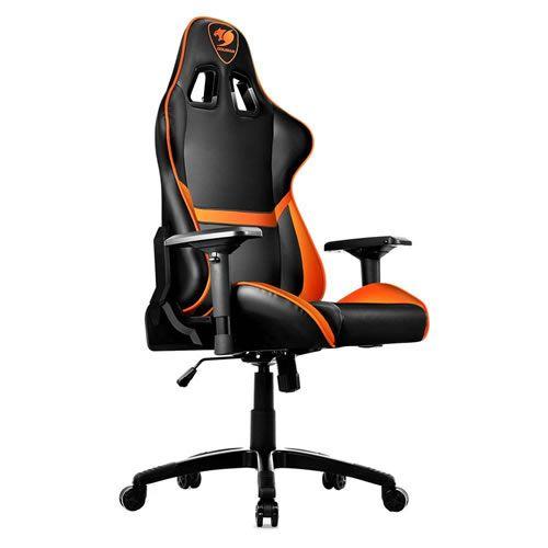 Cadeira Gamer Cougar Armor Black Orange CGR-NXNB-GC1