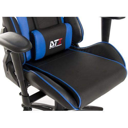 Cadeira Gamer DT3 Sports Elise Black Blue 10634-4