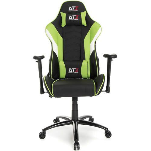 Cadeira Gamer DT3 Sports Elise Light Black Green 10227-2