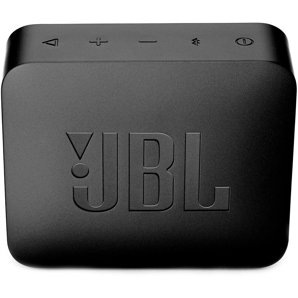 Caixa de Som JBL Go 2 À Prova D'Água Preto JBLGO2BLK