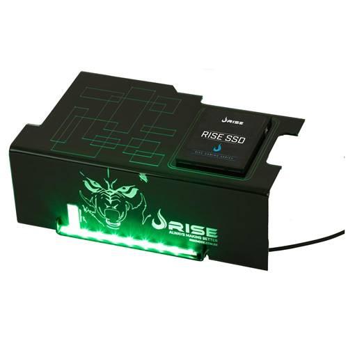 Cover PSU Rise Wolf Com Suporte SSD RG-CP-02-WF