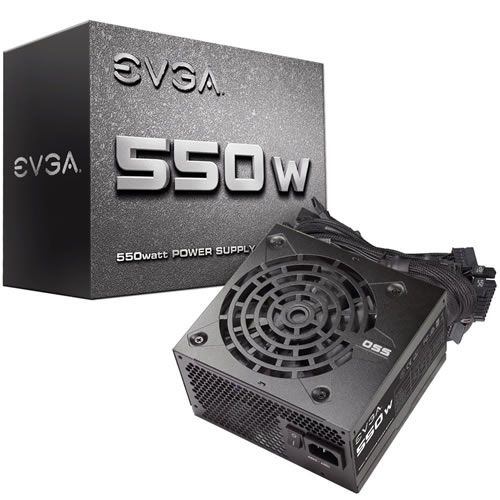 Fonte EVGA 550W 100-N1-0550-L0