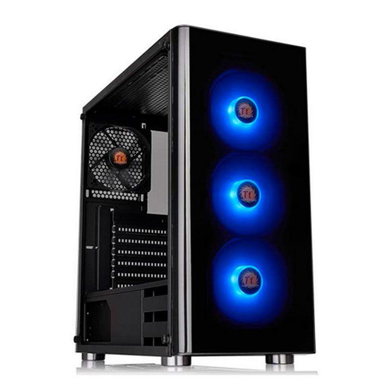 Gabinete Thermaltake V200 TG RGB Edition Com Fonte 600W CA-3K8-60M1WZ-00