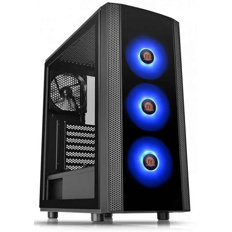Gabinete Thermaltake Versa J25 TG ARGB Com Fonte 600W CA-3L8-60M1WZ-00
