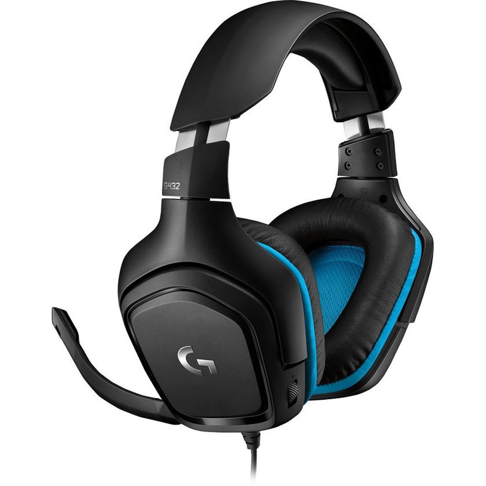 Headset Gamer Logitech G432 7.1CH USB/P2/P3 981-000769