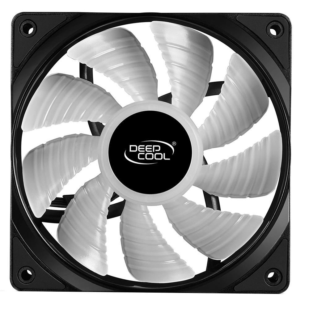 Kit Fan Deeocool RF120 RGB 3 Unidades DP-FRGB-RF120-3C