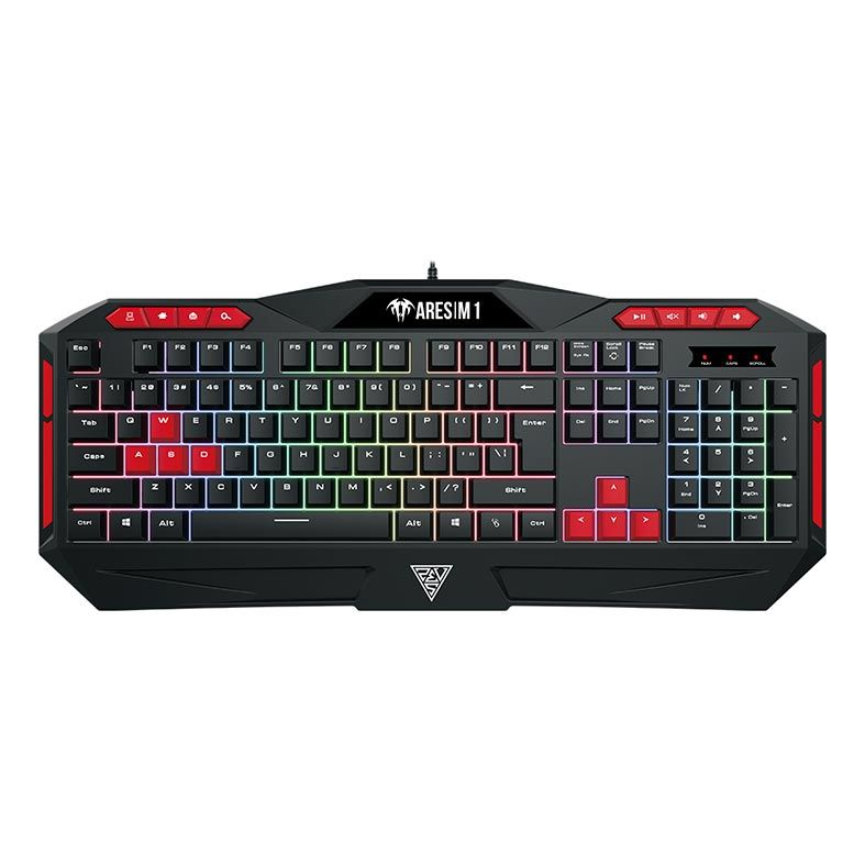 Kit Teclado Mouse Headset Gamdias Poseidon M1