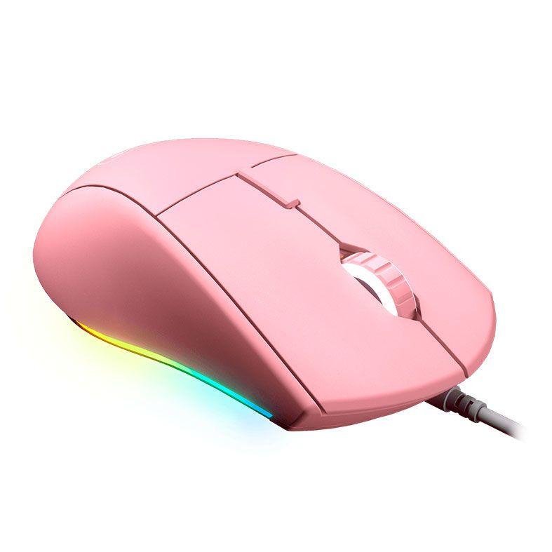 MOUSE GAMER MINOS XT RGB 4K DPI USB ROSA 3MMXTWOP.0001 COUGAR