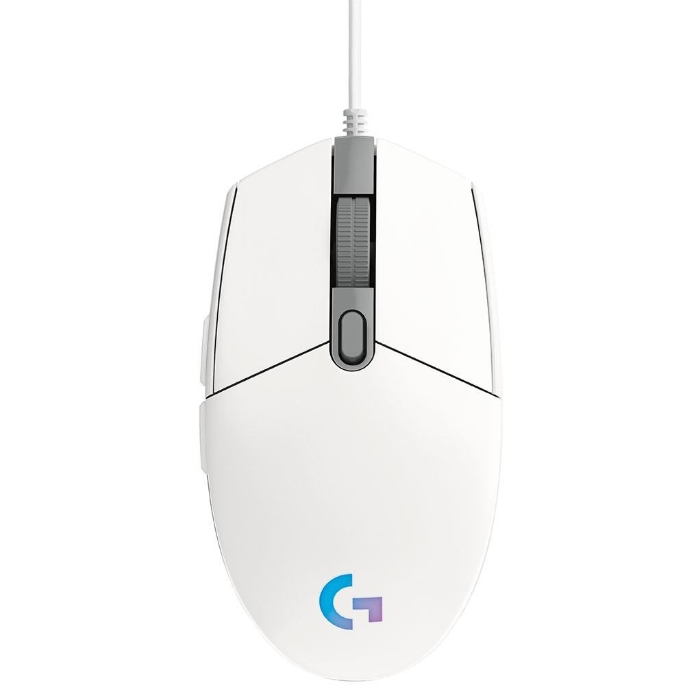 MOUSE GAMER G203 LIGHTSYNC RGB 8K DPI BCO 910-005794 LOGITECH