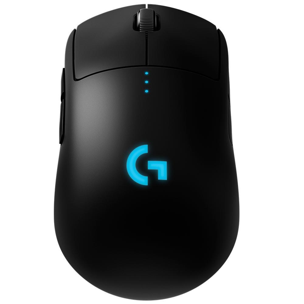 Mouse Gamer Logitech G Pro Hero LIGHTSPEED RGB 16K DPI Sem Fio 910-005271