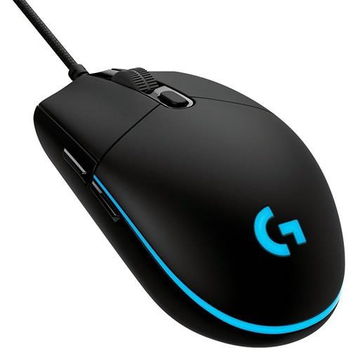 Mouse Gamer Logitech G PRO RGB USB 12000DPI
