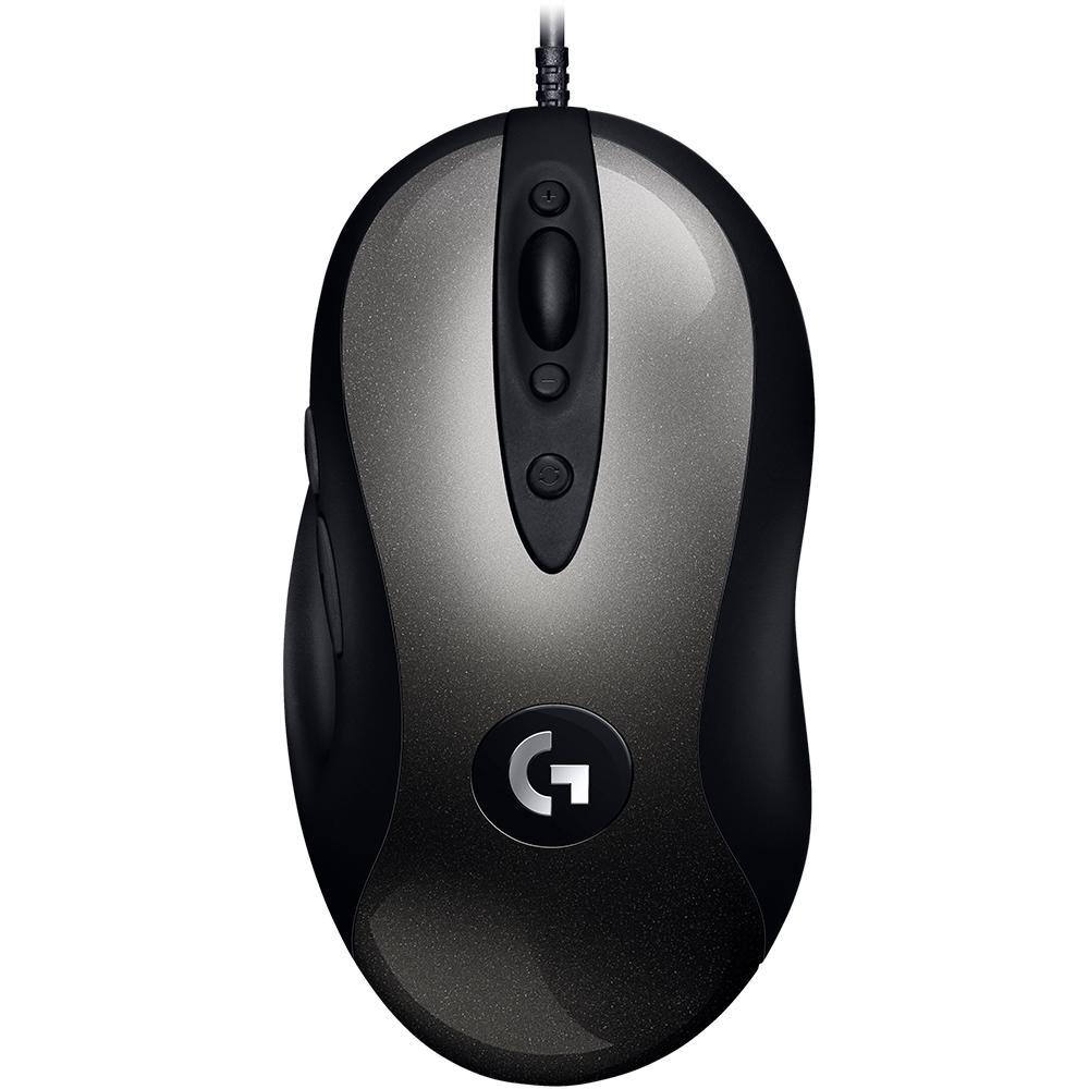 Mouse Gamer Logitech USB MX518 HERO 16K DPI 910-005543