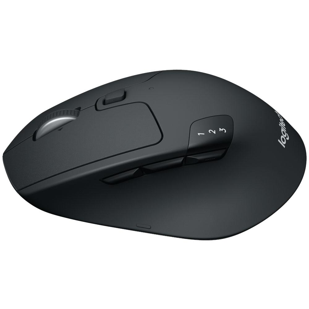 Mouse Logitech Triathlon M720 Sem Fio Preto 910-004790