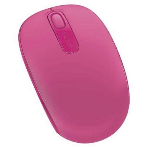 Mouse Óptico Microsoft 1850 Wireless Pink U7Z-00062
