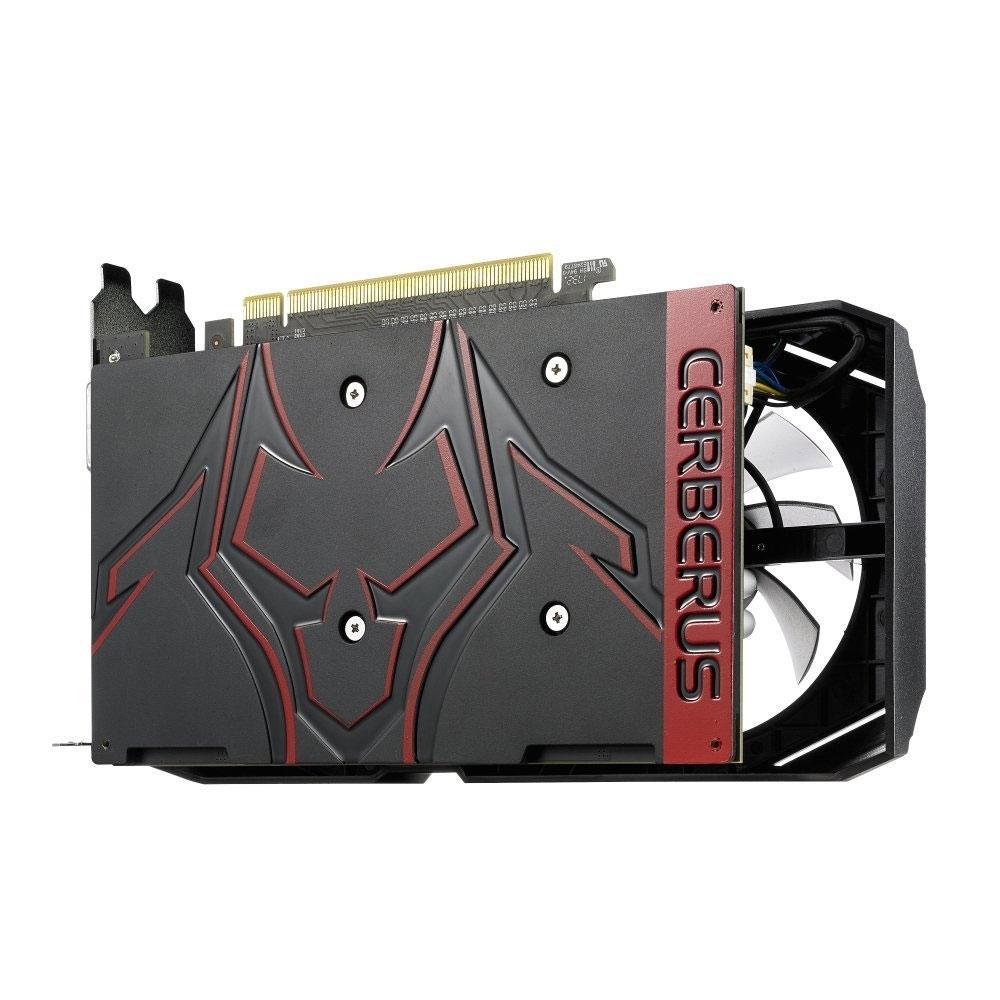 Placa de Vídeo Asus NVIDIA GeForce GTX 1050 Ti 4GB OC Cerberus 90YV0A74-M0NA00