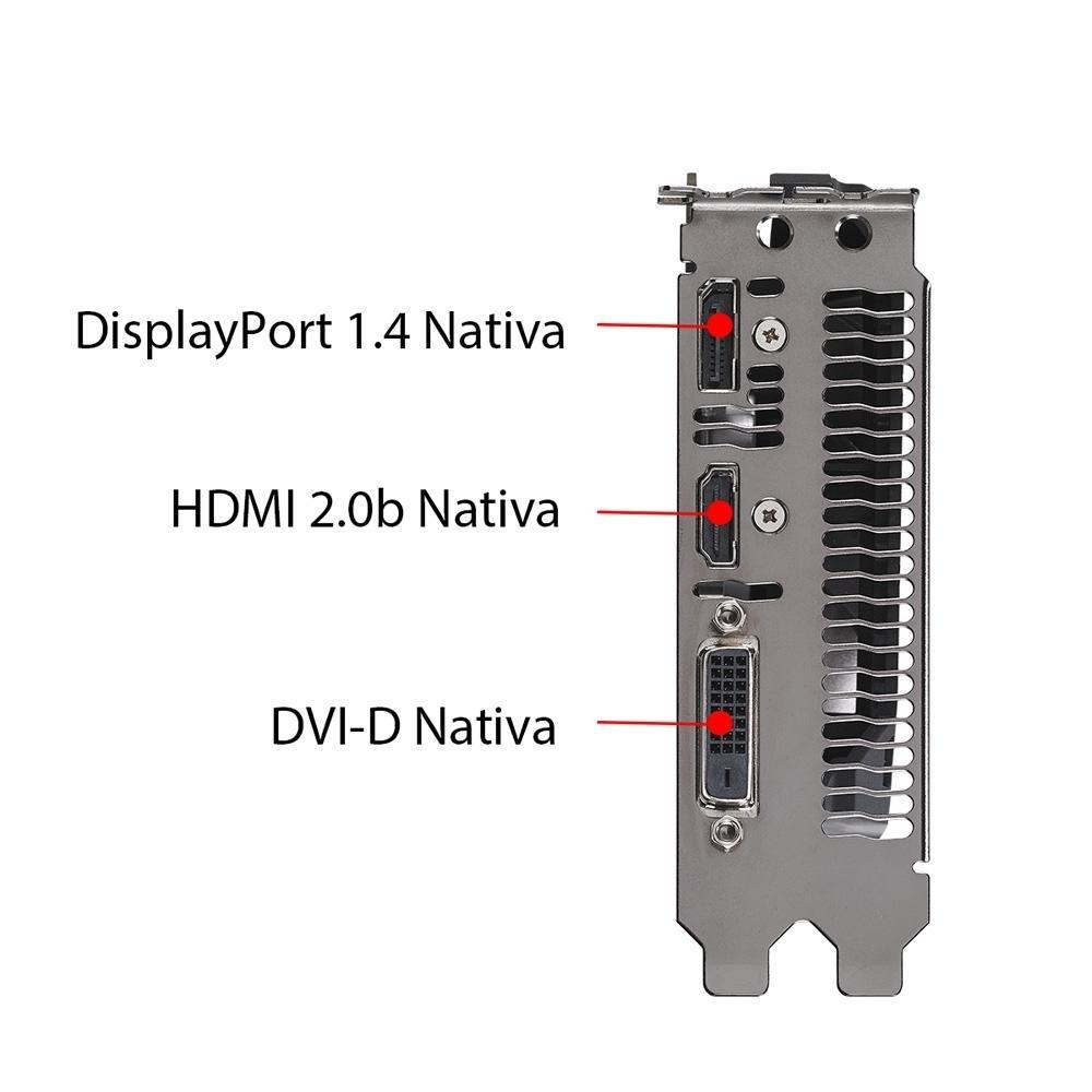 PLACA DE VIDEO NVIDIA GTX 1050 TI CERBERUS-GTX1050TI-O4G GDDR5 4GB 90YV0A74-M0NA00 ASUS