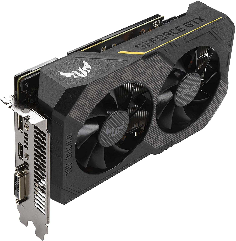 Placa de Vídeo Asus TUF3 NVIDIA GeForce GTX 1660 SUPER 6GB GDDR6 90YV0DT2-M0NA00