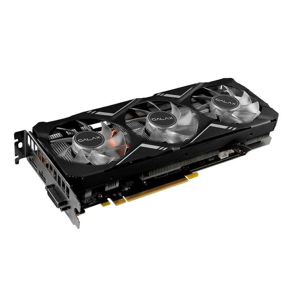 Placa de Vídeo Galax NVIDIA Geforce RTX 2060 Super Gamer OC 8GB GDDR6 26ISL6HP76GP