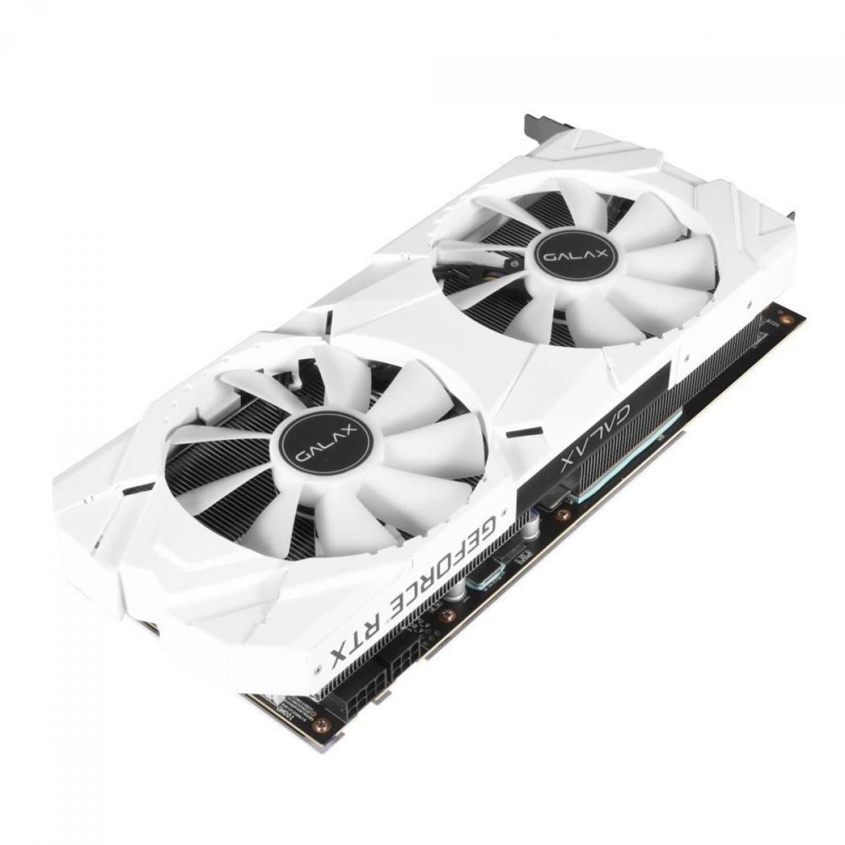Placa de Video Galax NVIDIA RTX 2060 PLUS EX WHITE 6GB OC 26NRL7MPX6AZ