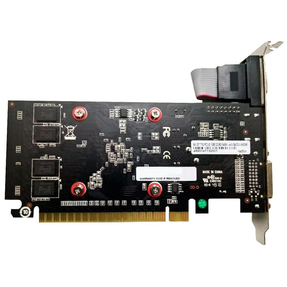 PLACA DE VIDEO NVIDIA GT 710 1GB DDR3 71GGF4DC00WG GALAX