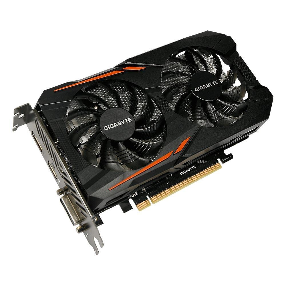 PLACA DE VIDEO NVIDIA GTX 1050 TI OC WINDFORCE GV-N105TOC-4GD 4GB GIGABYTE