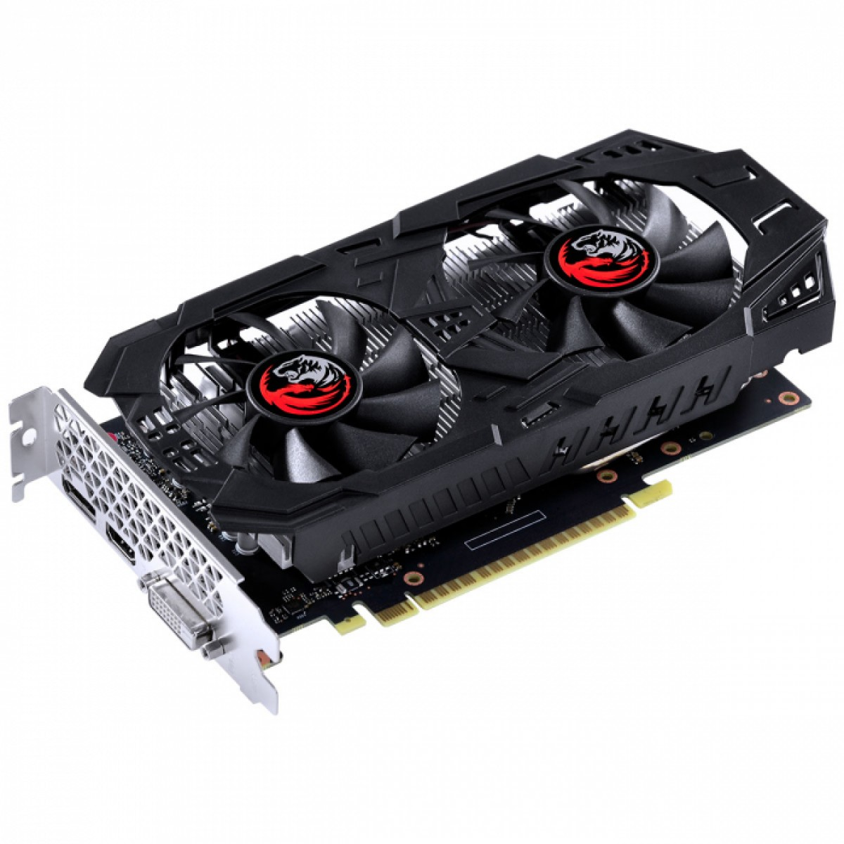 PLACA DE VIDEO NVIDIA GTX 1650 SUPER DUAL FAN GRAFFITI 4GB GDDR6 PA16504DR6128FS PCYES