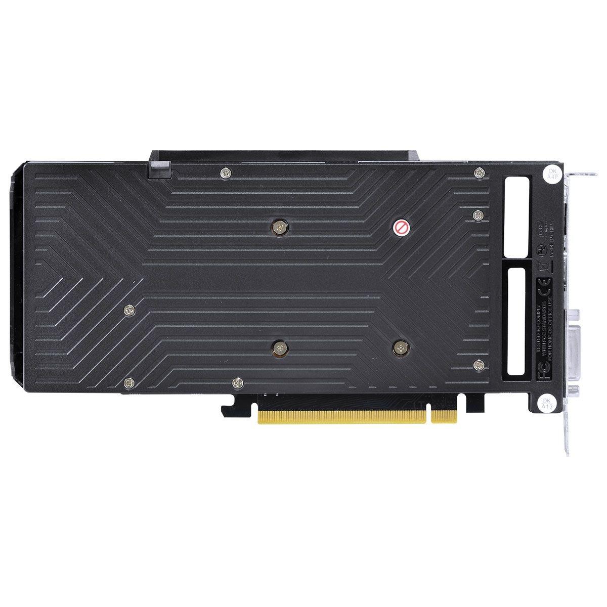 PLACA DE VIDEO NVIDIA GTX 1660 SUPER OC DUAL FAN GRAFFITI 6GB GDDR6 PPSOC16601926G6 PCYES