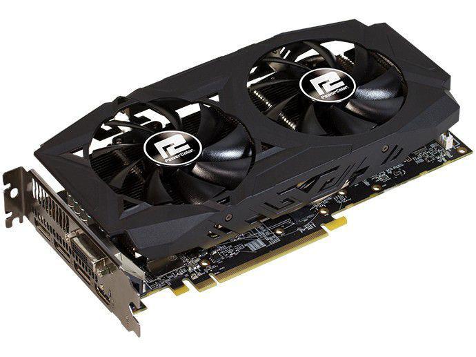 Placa de Vídeo PowerColor RX 580 8G BGDDR5 Red Dragon 8GBD5-DHDV2/OC