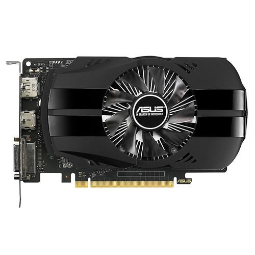 Placa de vídeo VGA Asus GTX 1050 TI 4GB DDR5 128Bits PH-GTX1050TI-4G