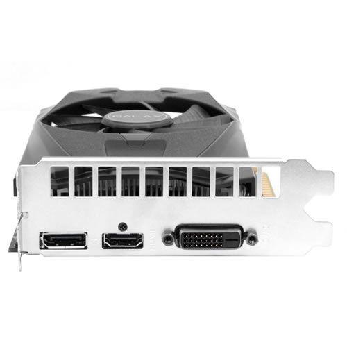 Placa de vídeo VGA Galax GTX 1050 TI OC 4GB DDR5 128Bits 50IQH8DSN8OC