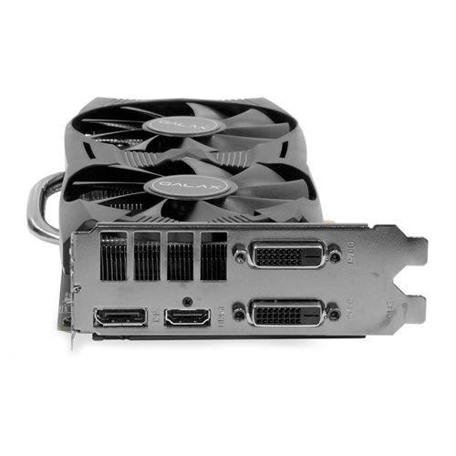Placa de vídeo VGA Galax GTX 1060 EXOC 6GB DDR5 192Bits 60NRH7DVM6EC